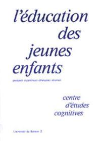 EDUCATION DES JEUNES ENFANTS