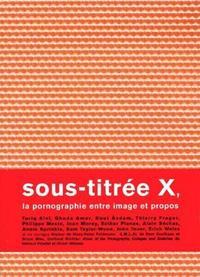 SOUS TITREE X