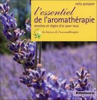L'ESSENTIEL DE L'AROMATHERAPIE - RECETTES ET REGLES D'OR POUR TOUS