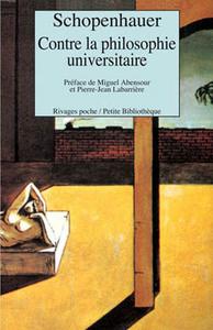 CONTRE LA PHILOSOPHIE UNIVERSITAIRE