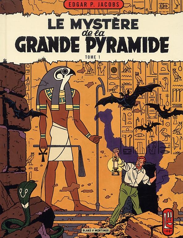 Blake & mortimer - tome 4 - le myst?re de la grande pyramide - tome 1