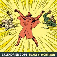 BLAKE ET MORTIMER - CALENDRIER BLAKE & MORTIMER 2014