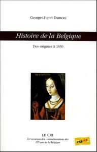 HISTOIRE DE LA BELGIQUE (DES ORIGINES A 1830)
