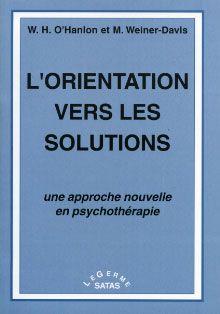L ORIENTATION VERS LES SOLUTIONS