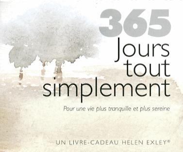 365 JOURS TOUT SIMPLEMENT