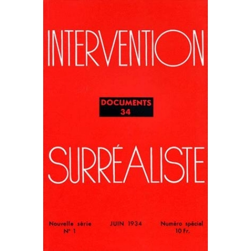 DOCUMENTS 34 INTERVENTION SURREALISTE