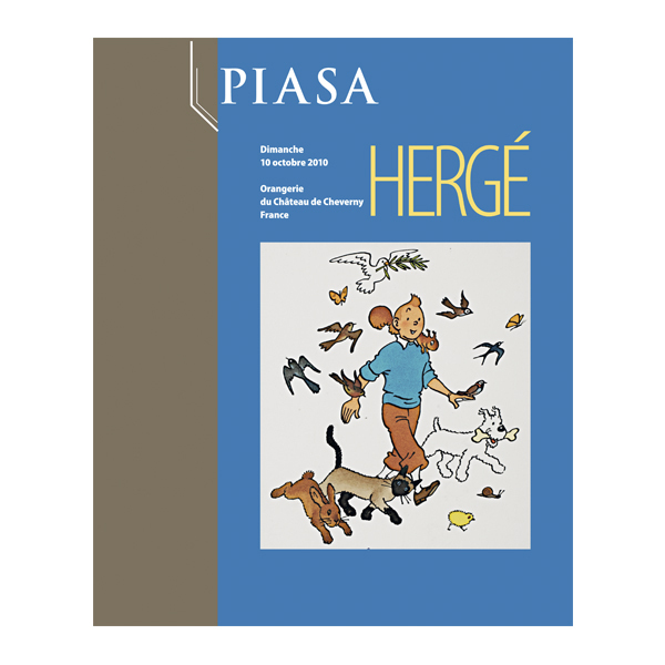 PIASA HERGE CHEVERNY OCT 2010
