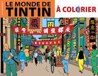 ALBUM A COLORIER - LE MONDE DE TINTIN