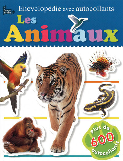 ENCYCLOPEDIE AUTOCOLL ANIMAUX