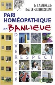 PARI HOMEOPATHIQUE EN BANLIEUE