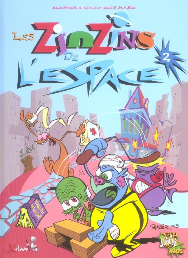 ZINZINS DE L'ESPACE T.2 (LES)