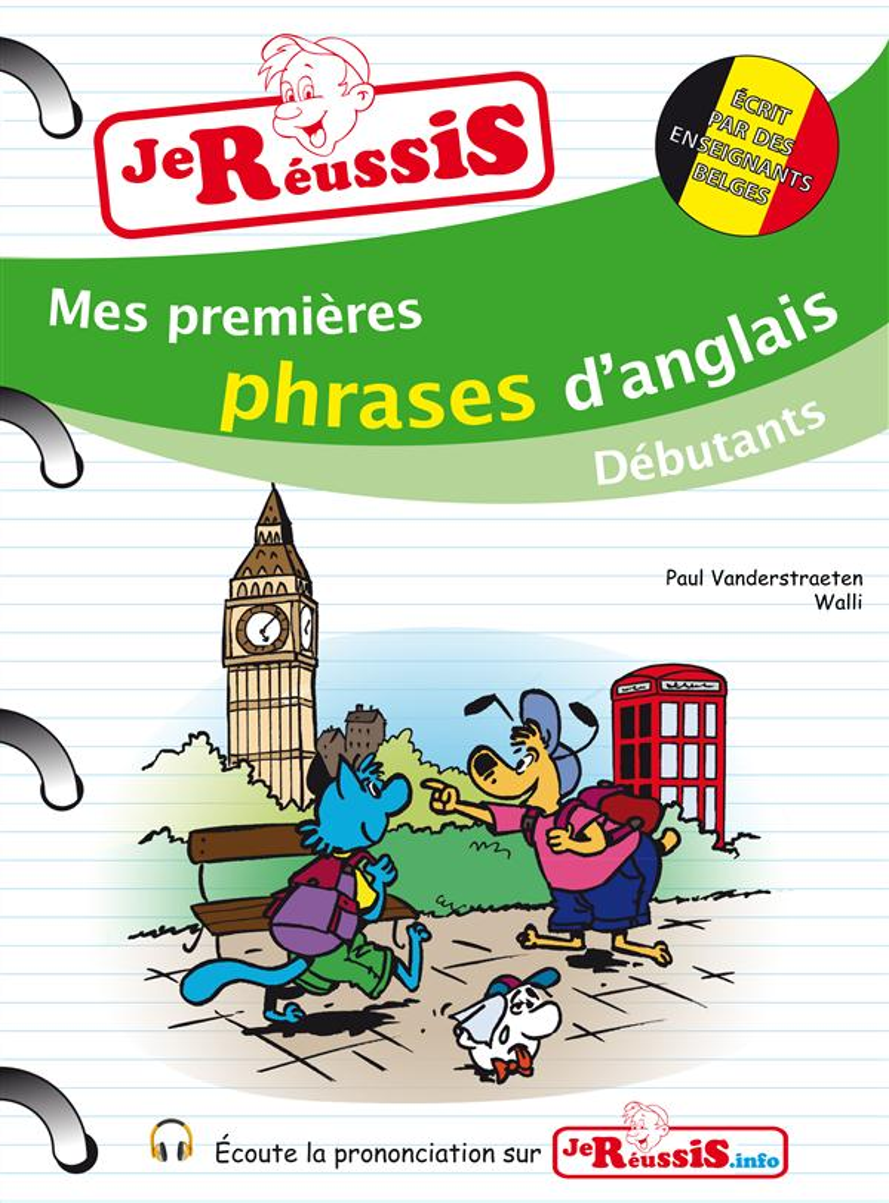 MES PREMIERES PHRASES D'ANGLAIS