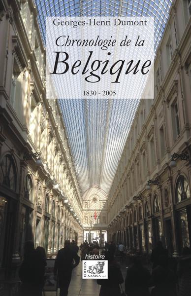 CHRONOLOGIE DE LA BELGIQUE 1830-2005 - 1930-2005