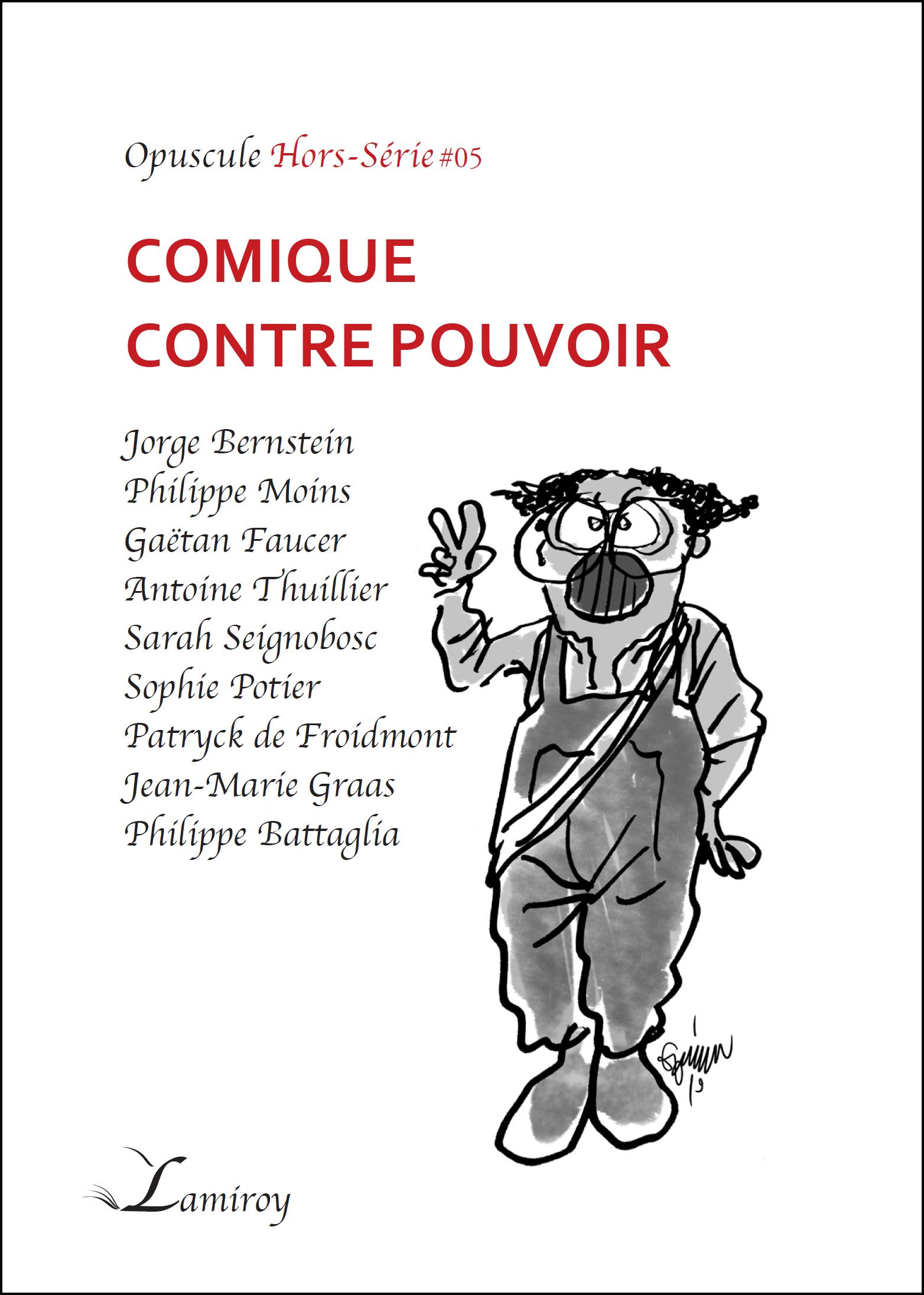 COMIQUE CONTRE POUVOIR - HS5