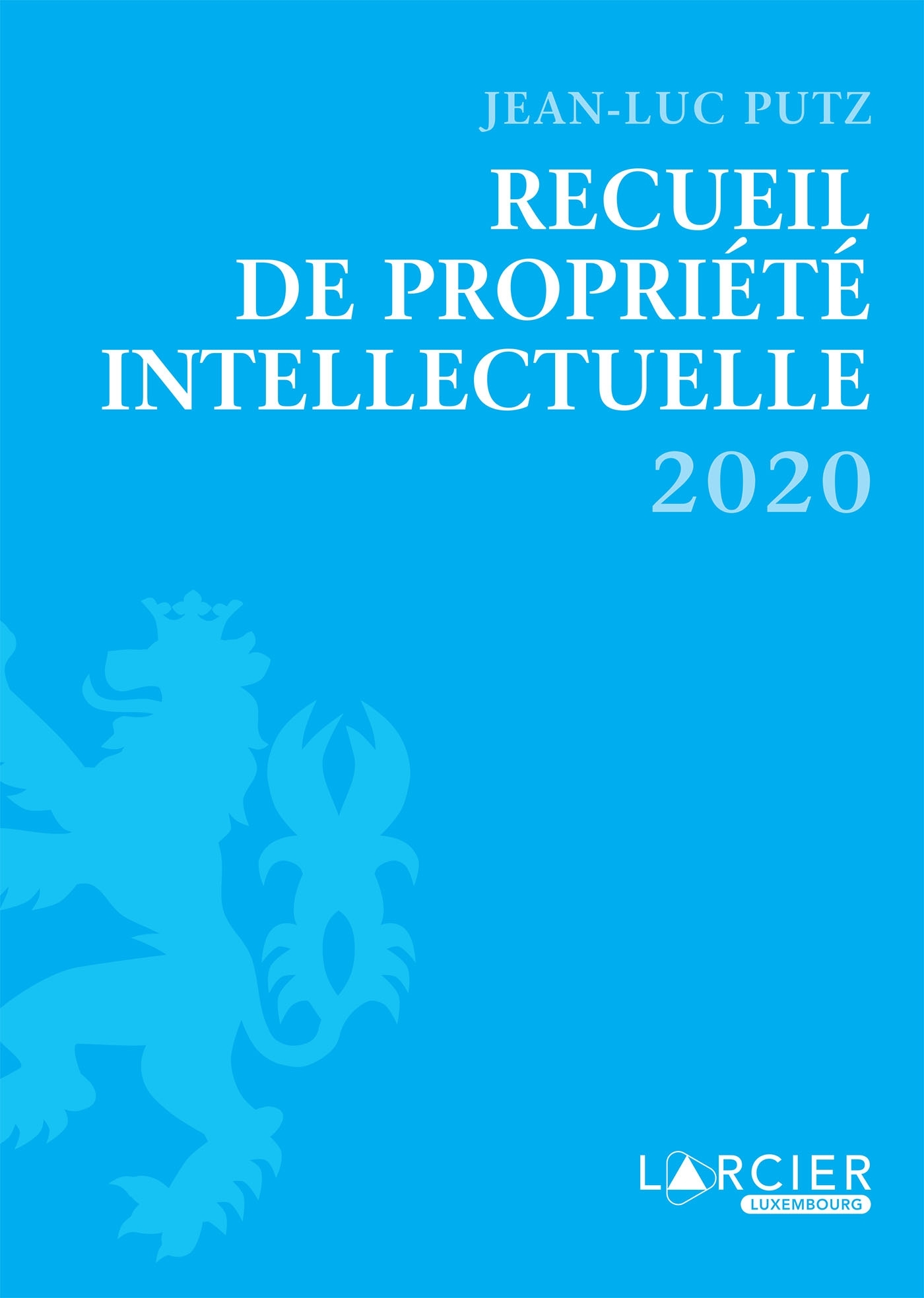RECUEIL DE PROPRIETE INTELLECTUELLE - 2020