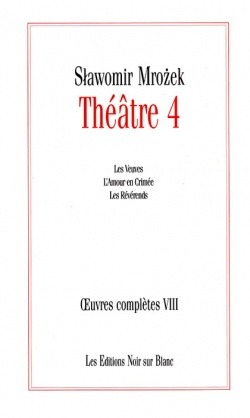 OEUVRES COMPLETES VOL 8 THEATRE 4