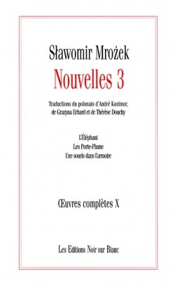 OEUVRES COMPLETES VOL 10 NOUVELLES 3