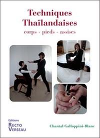 TECHNIQUES THAILANDAISES