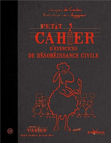 PETIT CAHIER D'EXERCICES DE DESOBEISSANCE CIVILE N.299