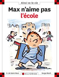 MAX N'AIME PAS L'ECOLE T6