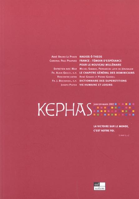 REVUE KEPHAS N1