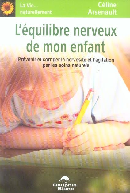 L'EQUILIBRE NERVEUX DE MON ENFANT