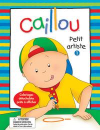 CAILLOU PETIT ARTISTE 1