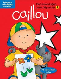 CAILLOU COLORIAGES SANS DEPASSER 1 - 01