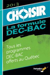 GUIDE CHOISIR DEC-BAC 2013