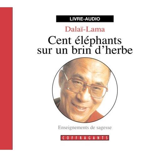 CENT ELEPHANT SUR UN BRIN D'HERBE  CD