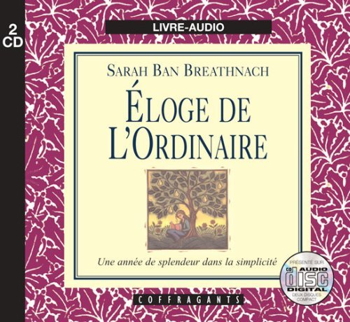ELOGE DE L'ORDINAIRE (CD)