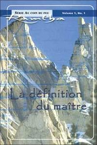 DEFINITION DU MAITRE