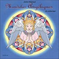 MANDALAS ANGELIQUES - A COLORIER