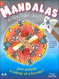 MANDALAS AU BOUT DES DOIGTS - TOME 4