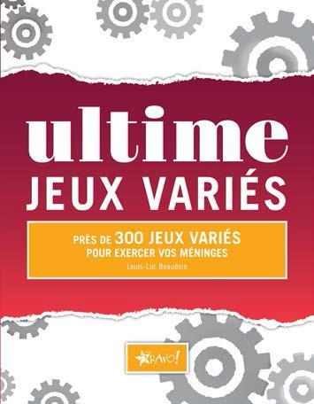 ULTIME JEUX VARIES