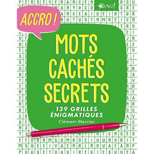 ACCRO MOTS CACHES SECRETS