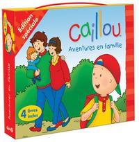 CAILLOU AVENTURES EN FAMILLE