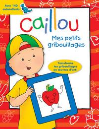 CAILLOU MES PETITS GRIBOUILLAGES