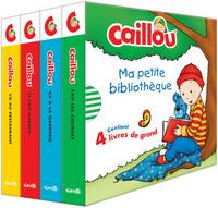 CAILLOU MA PETITE BIBLIOTHEQUE