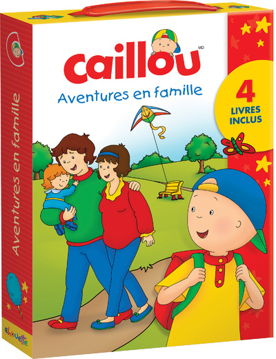 CAILLOU AVENTURES EN FAMILLE NE