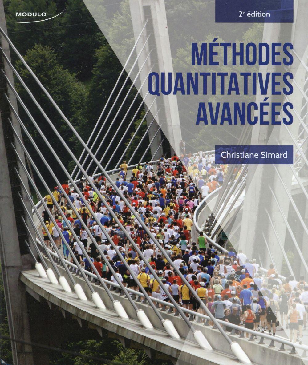 METHODES QUANTITATIVES AVANCEES