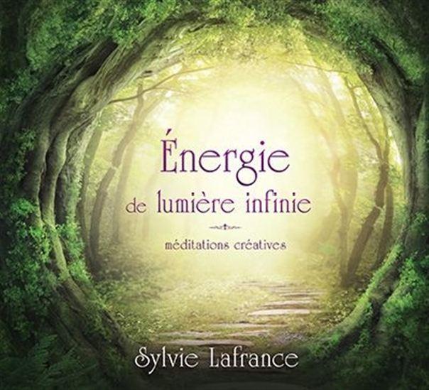 ENERGIE DE LUMIERE INFINIE - MEDITATIONS CREATIVES - LIVRE AUDIO 2 CD