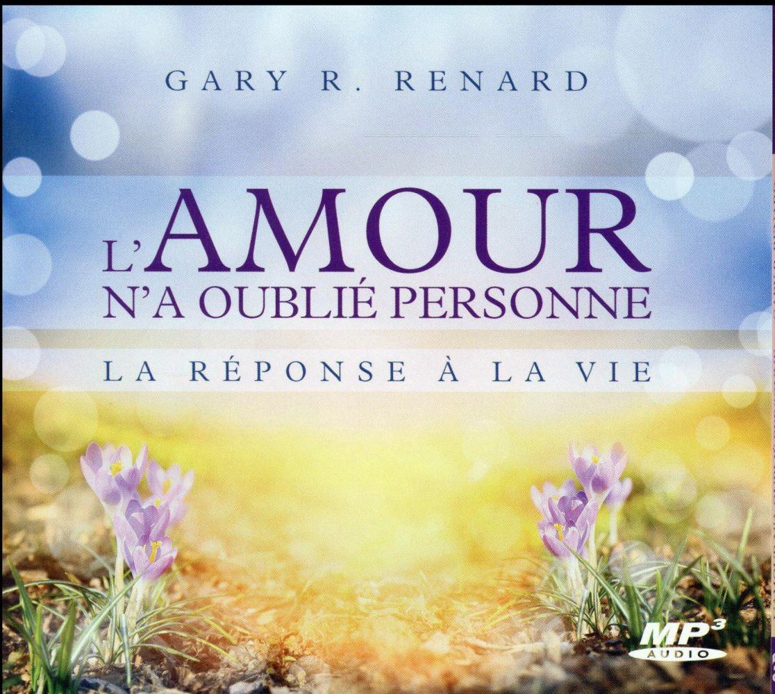 L'AMOUR N'A OUBLIE PERSONNE - LA REPONSE A LA VIE - CD MP3