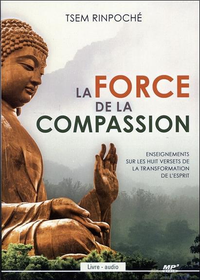 LA FORCE DE LA COMPASSION - LIVRE AUDIO CD MP3