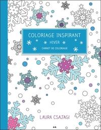 COLORIAGE INSPIRANT - HIVER - CARNET DE COLORIAGE