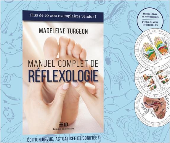 MANUEL COMPLET DE REFLEXOLOGIE - COFFRET LIVRE + PLANCHES