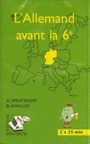 L'ALLEMAND AVANT LA 6EME (CASSETTE)