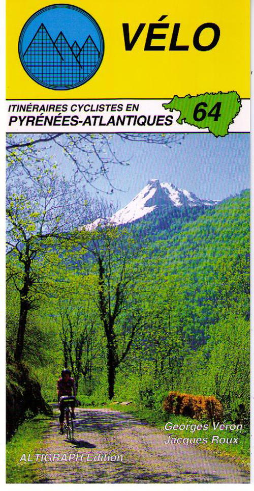 PYRENEES ATLANTIQUES VELO 64 ITINERAIRES CYCLIST