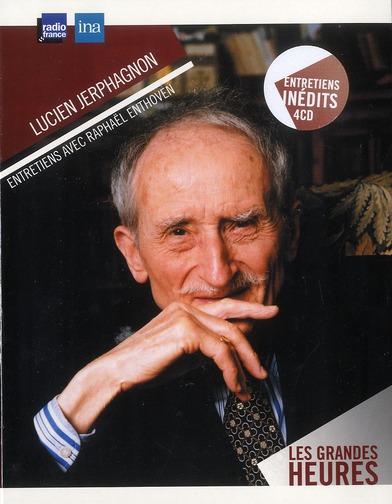 LUCIEN JERPHAGNON - ENTRETIENS 4CD.
