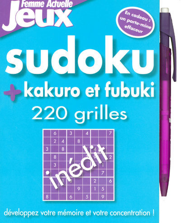 SUDOKU KAKURO FUBUKI 220 GRILL